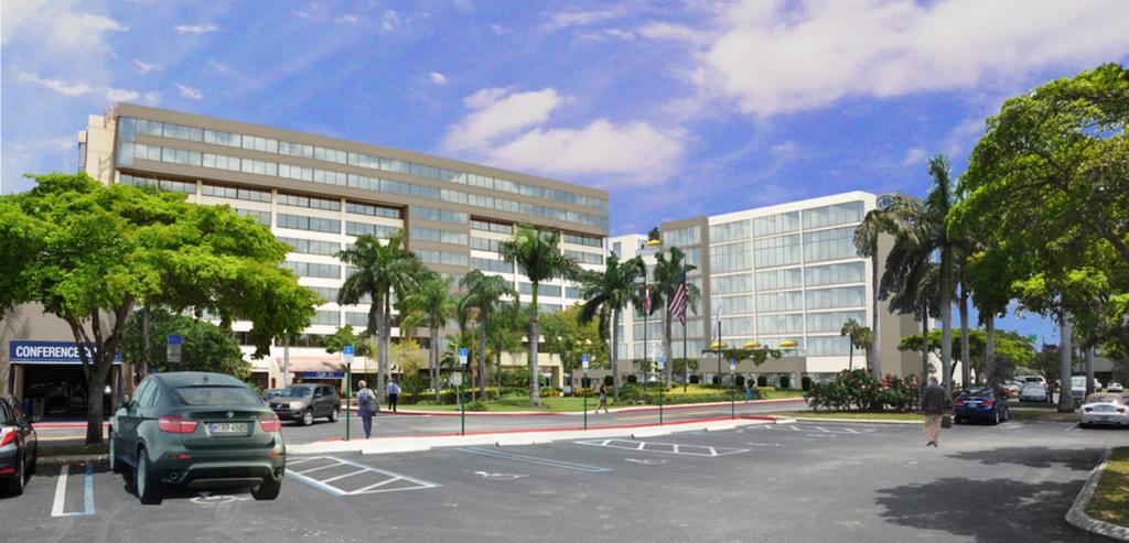 Hilton WPBA Rendering
