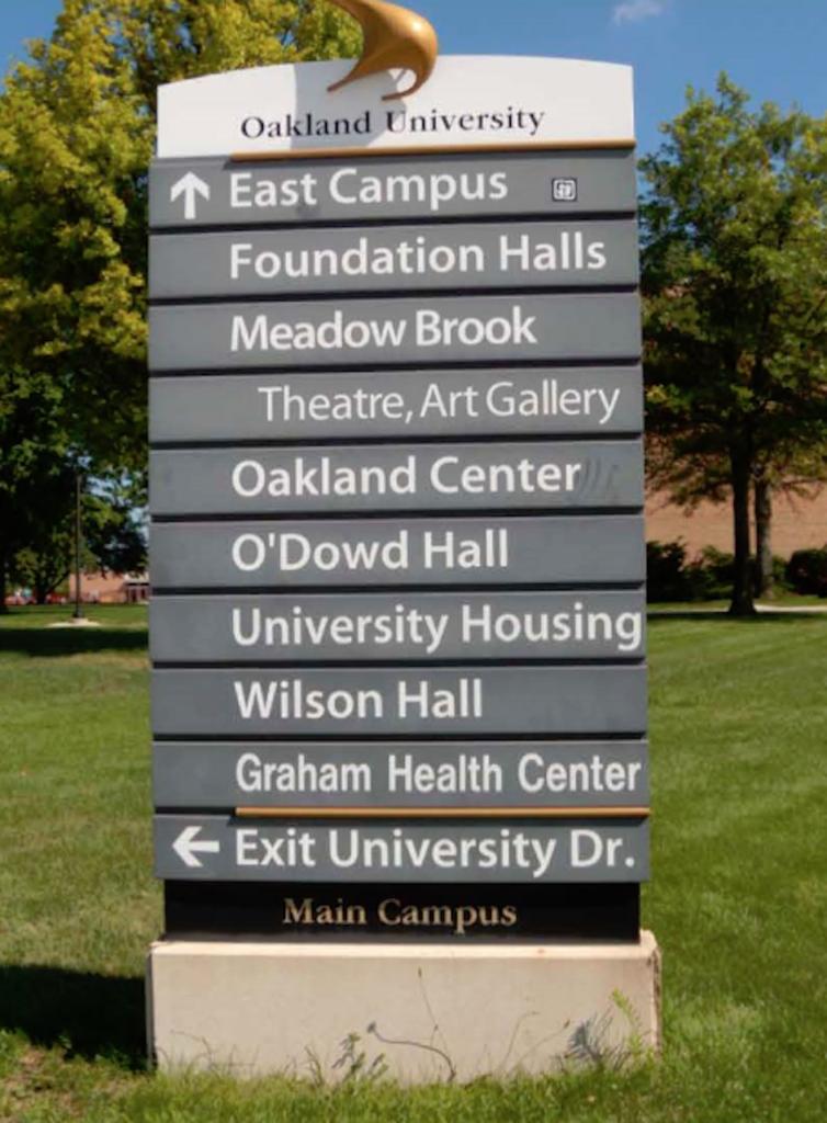 Oakland University 1