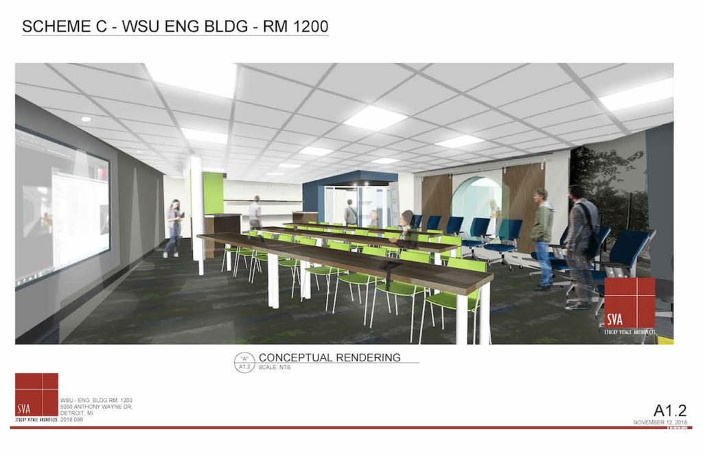 WSU Engineering Building - Aaron Friedman Memorial Conference Room